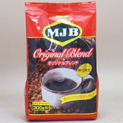 MJB レギュラーコーヒー 粉 オリジナルブレンド 袋 300g×12個