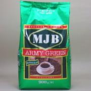 MJB レギュラーコーヒー 粉 アーミーグリーン 袋 900g×8個