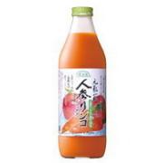 順造選 人参リンゴミックス(100%) 1000ml×6個