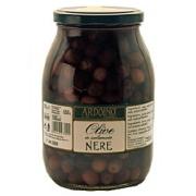 アルドイノ ブラックオリーブ塩水漬 ネレ 種あり 1050g×4個