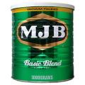 MJB レギュラーコーヒー 粉 ベーシックブレンド 缶 1kg×8個
