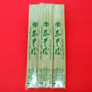 【業務用乾麺】茶そば