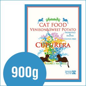 クプレラ CUPURERAベニソン&スイートポテト・キャットフード 900g
