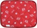 オーラ 遠赤外線アニマルマット Sサイズ レッド(赤)40×50cm