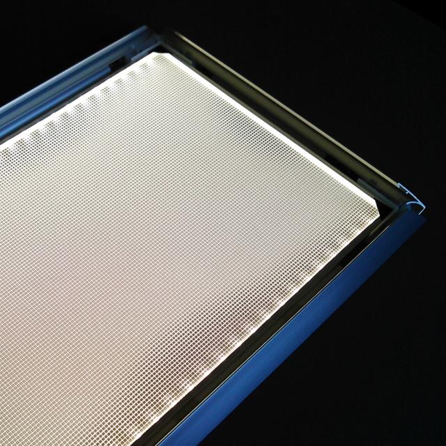 LEDパネル ラクライト フレーム付き仕様 発光面