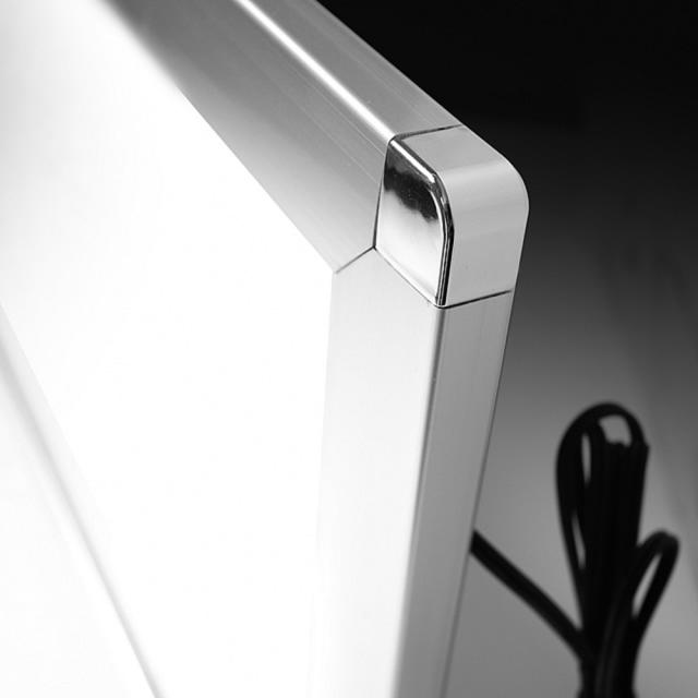 LEDパネル ラクライト フレーム付き仕様 ピュアRタイプ 角部