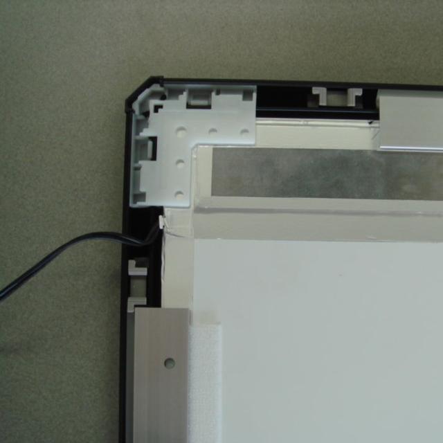 LEDパネル ラクライト フレーム付き仕様 裏面配線出口