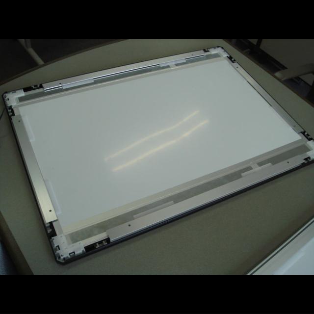 LEDパネル ラクライト フレーム付き仕様 裏面ヒートシンク 反射シート