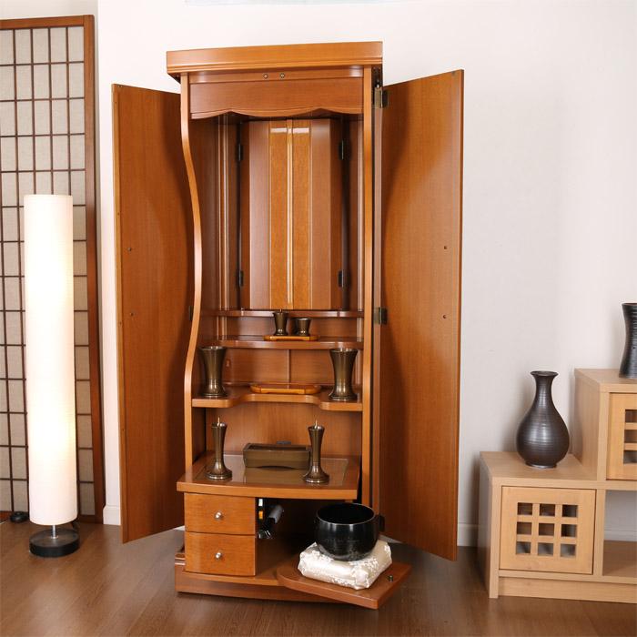 リユース大型家具調仏壇/ナラ天然木