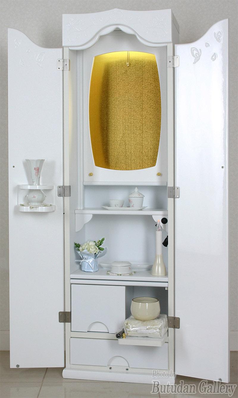 家具調仏壇ティアラホワイト