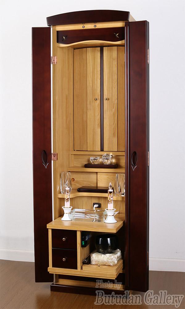 家具調仏壇クララ/ツートン【予算に合わせて必要な仏具だけ選べる】