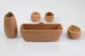選べる9色☆【陶器仏具いずみ】ベージュ