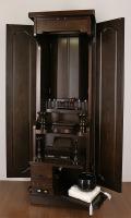 家具調仏壇天然木タモ