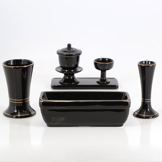 陶器 すばる ブラック 6具足セット