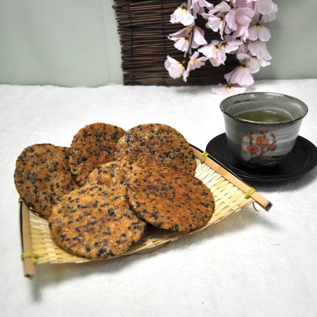 草加煎餅(ごま)