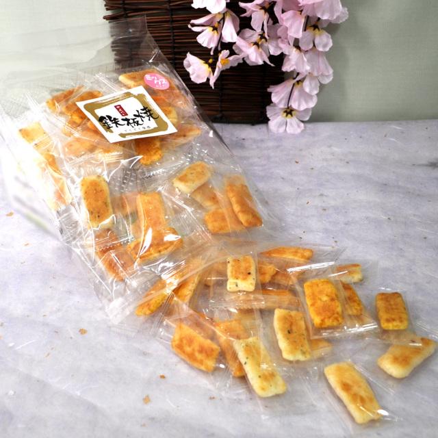 鉄板焼き 煎餅ミックス