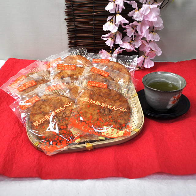 炭火焼手焼煎餅