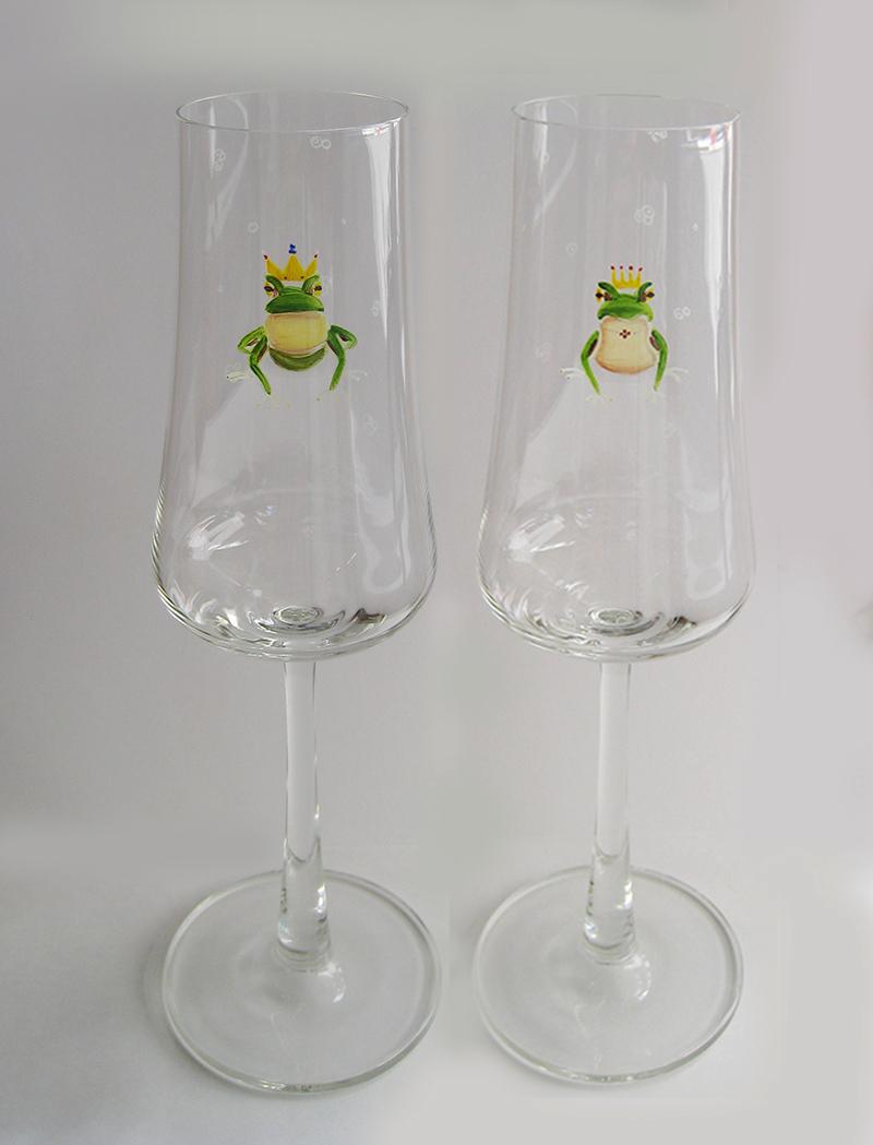 FROG king&queen ペアシャンパン