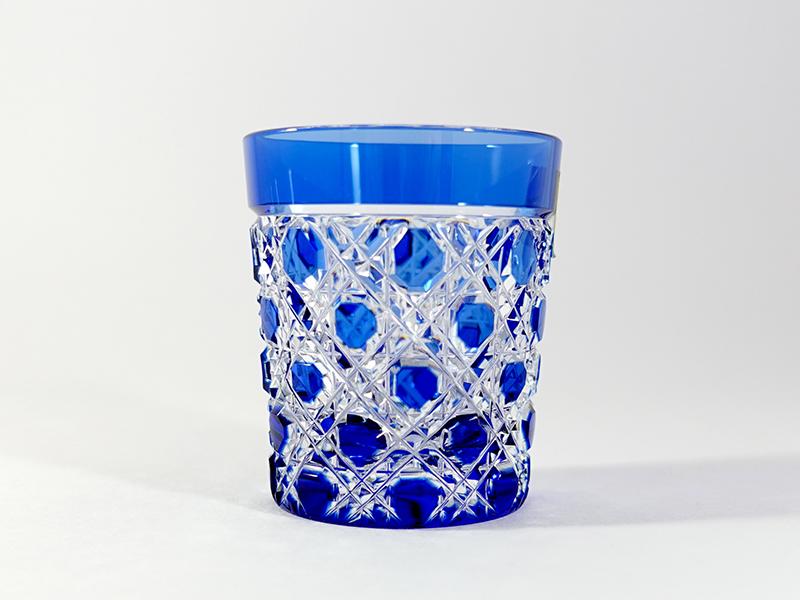 カガミ T590-1-CCB 冷酒杯 青