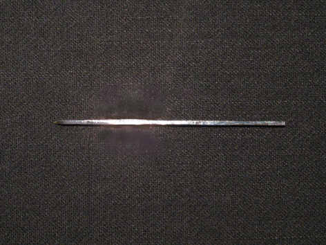 カクテルピン 銀 60mm □1.5mm