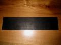 革 バーマット 黒 長方形