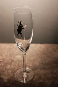 うさぎ黒 シャンパン