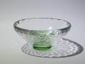 03 クリスタル 平杯カップ 緑