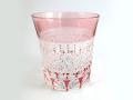 カガミ T542-1441CAU ロックグラス・赤