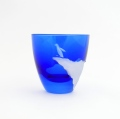 ペンギンクライム冷酒杯青藍