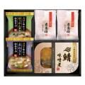 【送料無料】三陸産煮魚&おみそ汁・梅干しセット(W20-01)