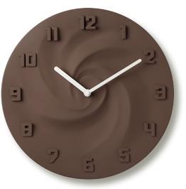 INTERIOR CLOCK(インテリアクロック)/CREAM・チョコレート