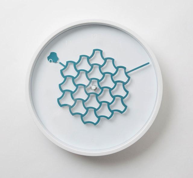 Tangle Clock テトラブルー