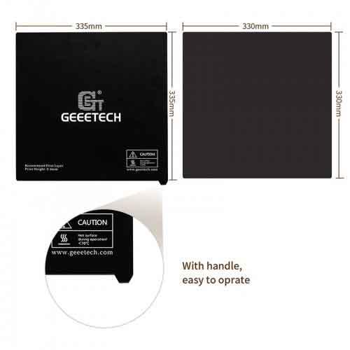 Geeetech 2個* A30 A30MA30Tマイラーステッカープラットフォーム