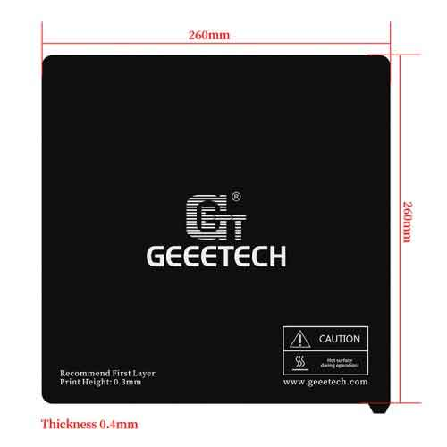 Geeetech 2個* A20 A20MA20Tマイラーステッカープラットフォーム