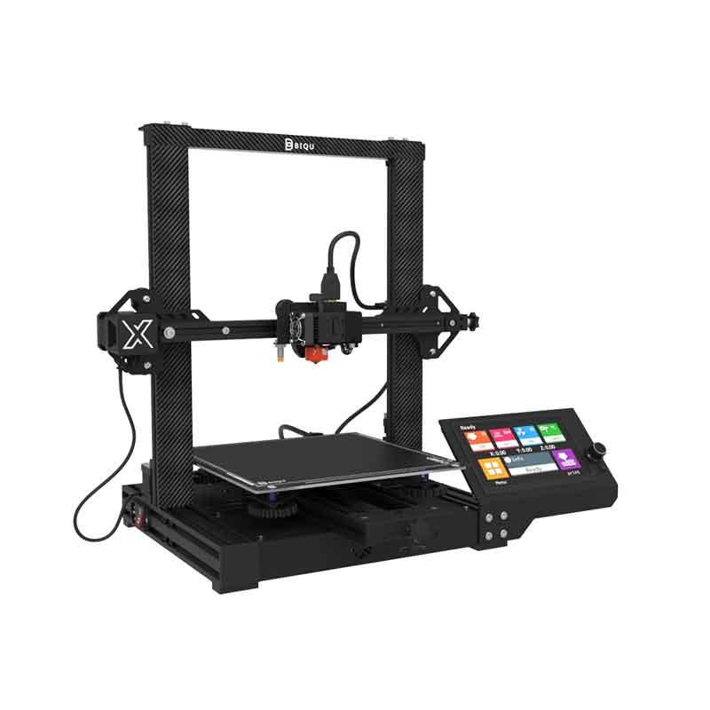 BIQU BX 3Dプリンター 250x250x250mm印刷サイズ、32ビット400MHz Arm Cortex-M7/ 7インチHDカラータッチスクリーン/フィラメントセンサー/軽量ダイレクトエクストルーダー【正規販売代理店】