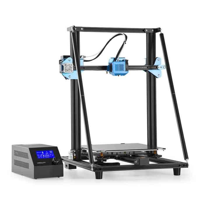 Creality3DCR-10 V2 大型印刷 3Dプリンター 一部組立済みDIYキット 300×300×400mm大容量ビルドエリア 3.2インチ/TMC2208ウルトラミュートドライバーサポートパワーレジューム/ BL-touch