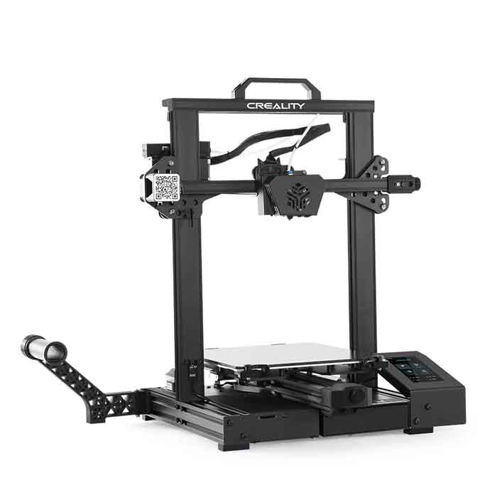 Creality3D CR-6 SE 3Dプリンター (超サイレントTMC2209 、 ブランド電源、カーボランダムガラスプラットフォーム,32ビットサイレントマザーボード) DIY プリンターキット 未組立 高精度印刷 停電回復機能 最大印刷サイズ 235 * 235 * 250mm