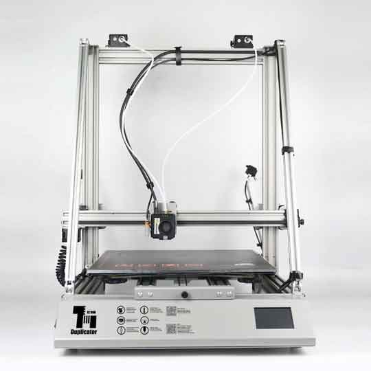 WANHAO_D12-500-デュアルエクストルーダー 大型印刷 3Dプリンター 一部組立済みDIYキット 500×500×500mm大容量ビルドエリア 5インチ/TMC2208ウルトラミュートドライバーサポートパワーレジューム