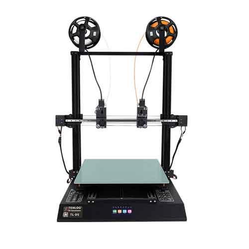 TENLOG TL-D5 3Dプリンターキット500 * 500 * 600mm印刷サイズ、デュアルエクストルーダー/メインボード/モジュラーXaxis /デュアルモーター/3.5インチカラースクリーン