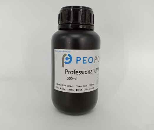 Peopoly Phenom大判MSLA(LCD+LED) 3Dプリンター用_Deft レジン (グレー) 1Kg