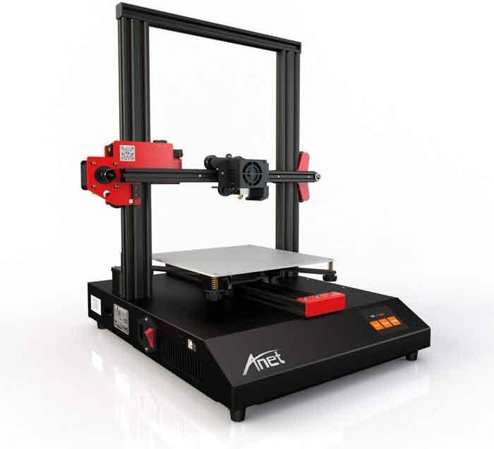 Anet ET4オールメタルフレームDIY 3Dプリンターキット220 * 220 * 250mm印刷サイズサポートフィラメント検出/印刷再開/自動レベリング