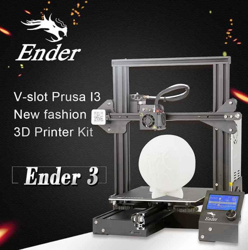 Creality3D Ender3-X  3Dプリンター (プラットフォームステッカー、 ブランド電源、0.4mmノズルx5個) Creality 3D DIY プリンターキット 未組立 高精度印刷 停電回復機能 最大印刷サイズ 220 * 220 * 250mm
