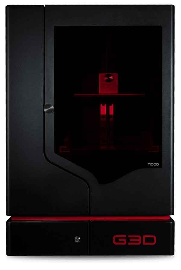 高速プリント・大容量!G3D T-1000 光造形式DLP 3Dプリンター【正規販売代理店】