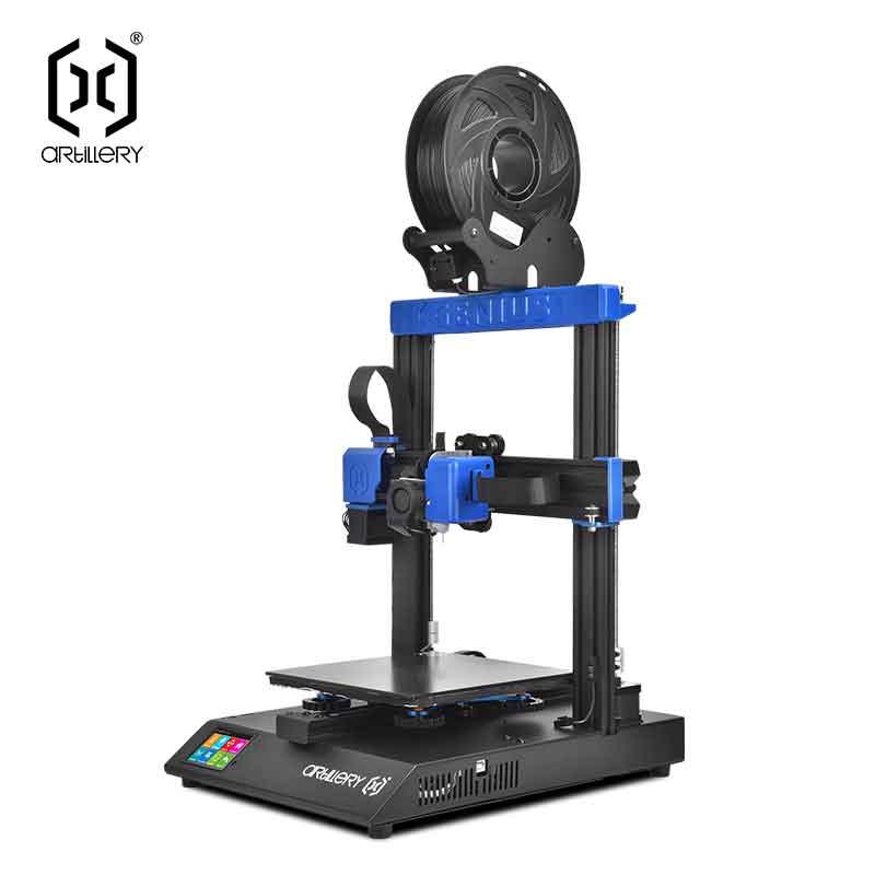 Artillery Geniusジーニアス プロ 3Dプリンターキット、220 * 220 * 250mm印刷サイズ/フィラメント検出/印刷再開/デュアルZ軸/ TFTタッチスクリーン