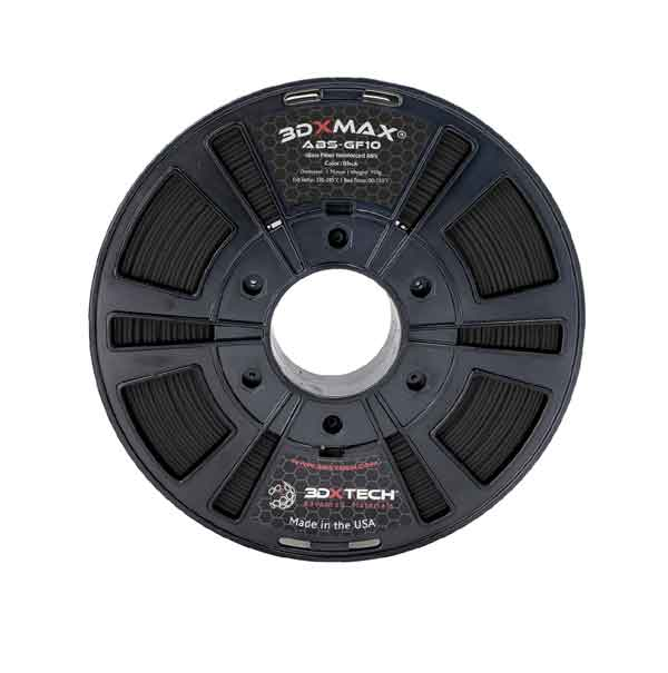 3DXTECH 3DXMAX®ABS-GF10ガラス繊維強化ABSフィラメント 750g