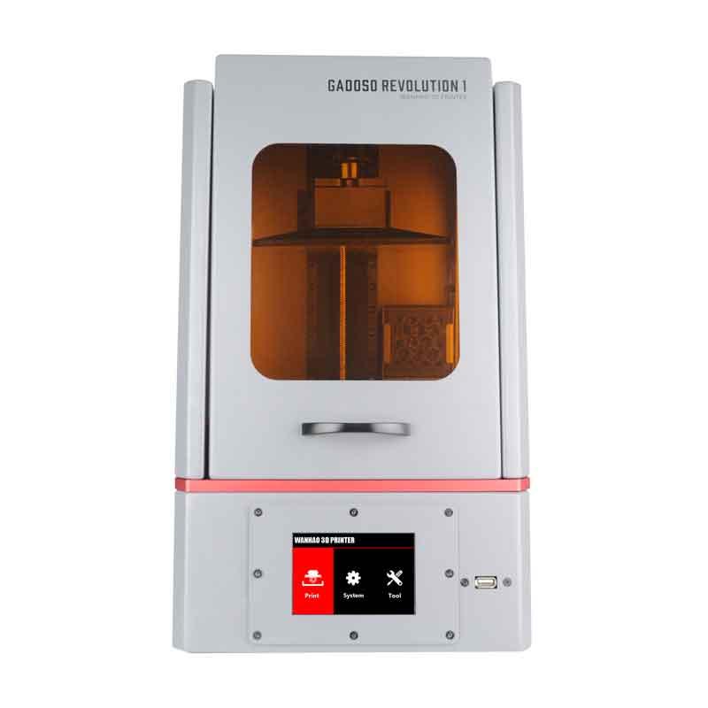 WANHAO  GR1 (GaDOSO revolution 1)LCD光造形式 3Dプリンター(オレンジ窓)【正規販売代理店】