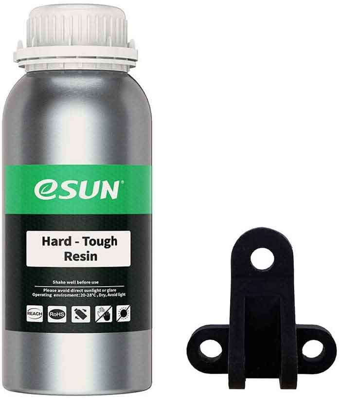 eSUN  LCD光造形 3Dプリンター(iSUN LCD3/Anycubic Photon/Wanhao D7/Sparkmaker用) ハードタフ・ レジン 1Kg