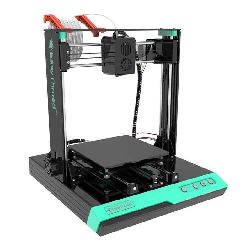 静音!軽量で簡単組立!造形150mm角!EasyThreed/エージースリーディー  K3plus 3Dプリンタ-新モデル!! 【正規販売代理店】