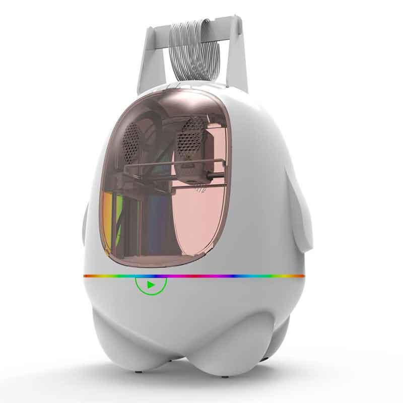 簡単!きれいな造形です!かわいい ペンギンボディでお子様教育に!EasyThreed/エージースリーディー   K5 3Dプリンター 本体【正規販売代理店】