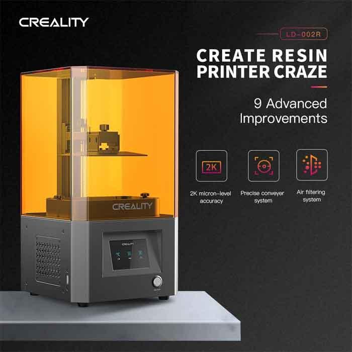 Creality 3D 光造形式 3Dプリンター 2K 高精度 LCD 3Dプリンタ LCD-002R【正規販売代理店】